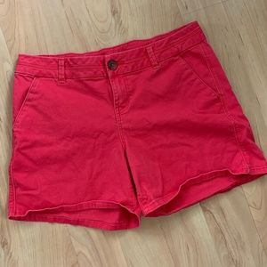 Maurices Bright Pink Shorts, 9/10